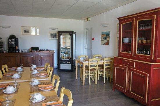 Hotel Terriciae: Au petit déjeuner!!!