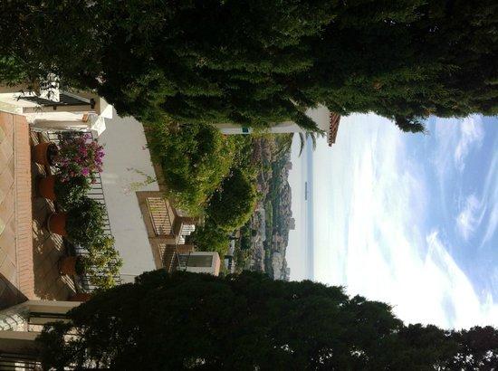 Hotel La Fonda: La Fonda view