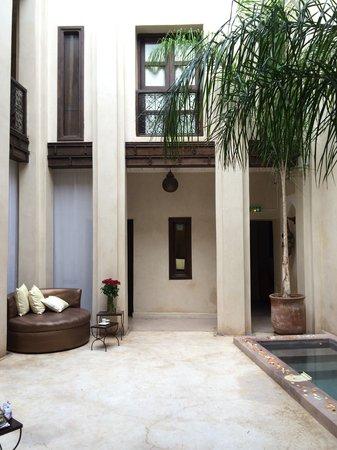 Riad Pourpre Medina: le patio