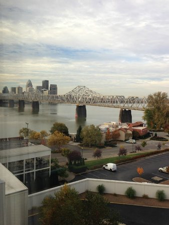 Sheraton Louisville Riverside Hotel: View from our room