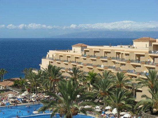 ClubHotel Riu Buena Vista : vue sur la Gomera