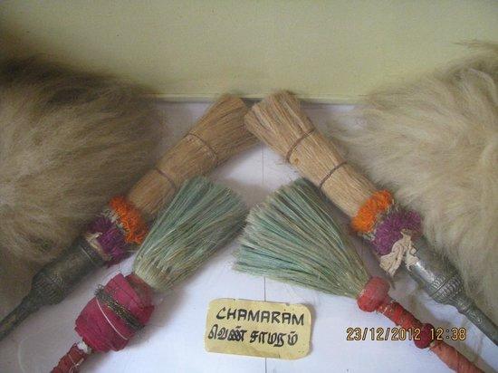 Thanjavur Royal Palace and Art Gallery: chamar