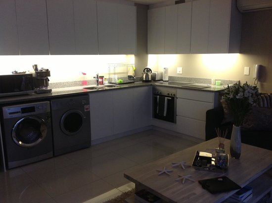 Kitchen (even had a tumble dryer and coffee maker!)