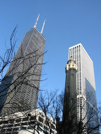 The Ritz-Carlton, Chicago: View of Water Tower & Hotel