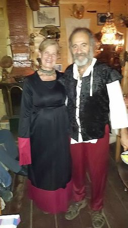 Monte Compatri, Italien: Lady Rosa e Ser Silvano ;)