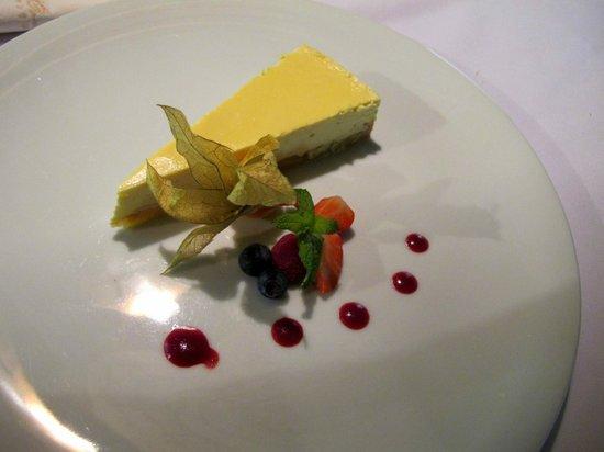 La Bouchee: cheesecake all'ananas