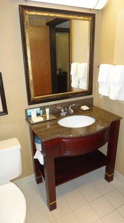 Hilton Bellevue : Ванная