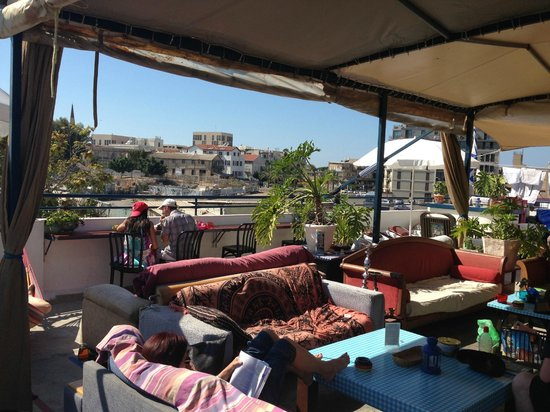 Florentine Hostel: The Roof Terrace