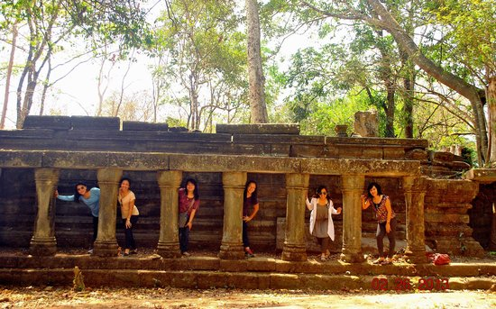 Asia Experience Travel: with friends in Siem Reap