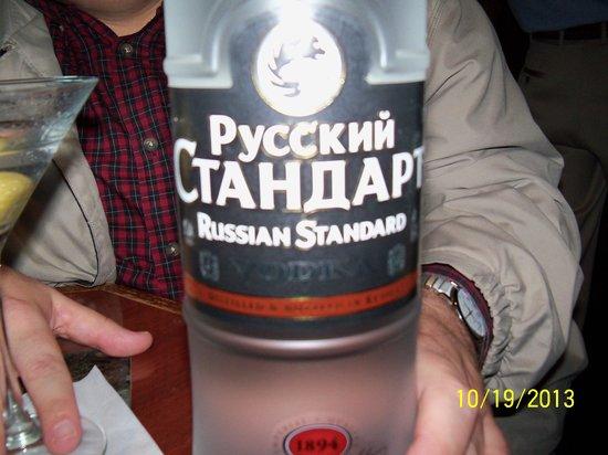 Russian Vodka Room : Russian Vodka