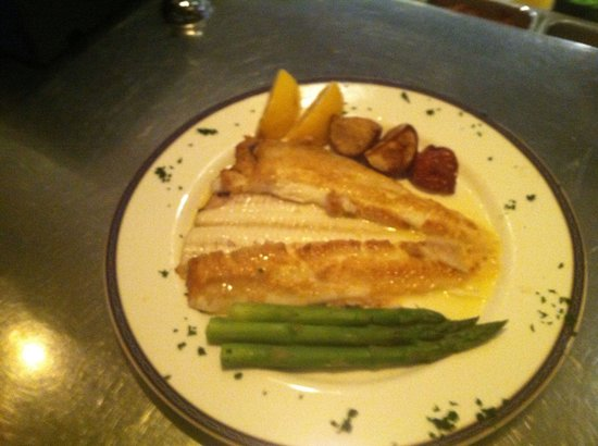 Toscana: Dover Sole to die for it