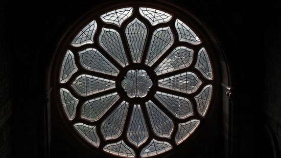 Saint Magnus Cathedral: The Rose window on the south side