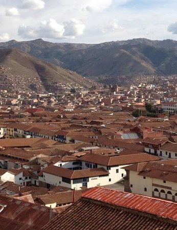 Don Bosco Hotel: Great view of Cusco
