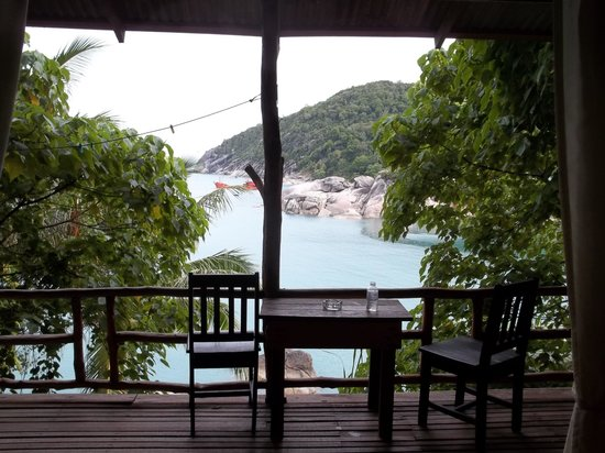 Plaa's Thansadet Resort: Room with a view