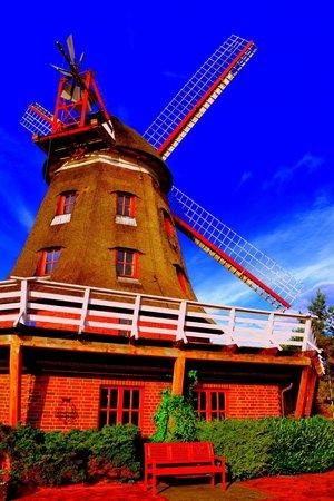 Ferien Hotel Lewitz Muehle: Blick auf die Mühle