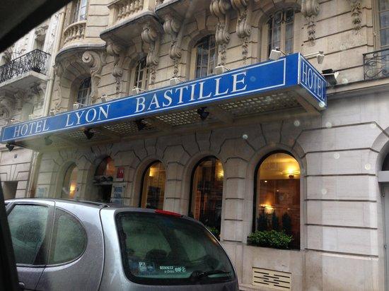 hotel lyon bastille: