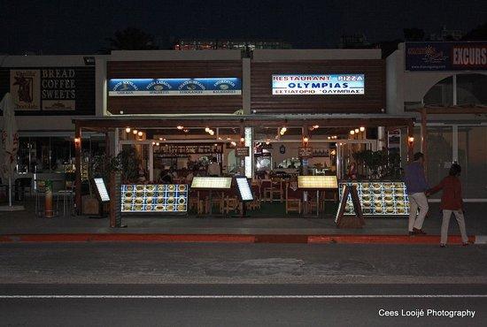 Restaurant Olympias: Na het eten terug naar het hotel