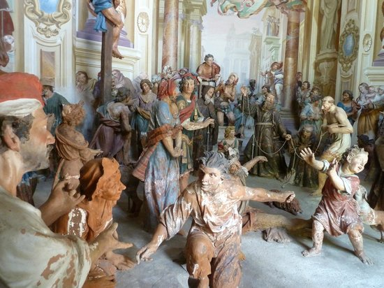Sacro Monte di Orta: Plaster models
