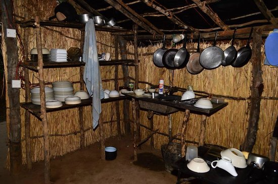 Buffalo Camp: The kitchen