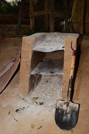 Buffalo Camp: The oven