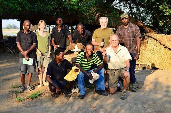 Buffalo Camp: The resident team