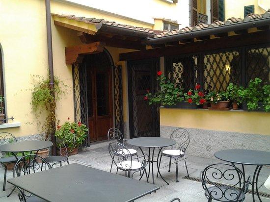 Residenza Il Villino B&B : pasillo