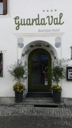 Romantik Boutique Hotel Guardaval: Guardaval Hotel Scuol