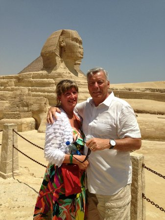 Egypt Fun Tours Day Trips: Julie and Peter Morris - Cairo - 26 June 2013
