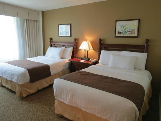 Mayaguez Resort & Casino: Double bed room- Main Tower