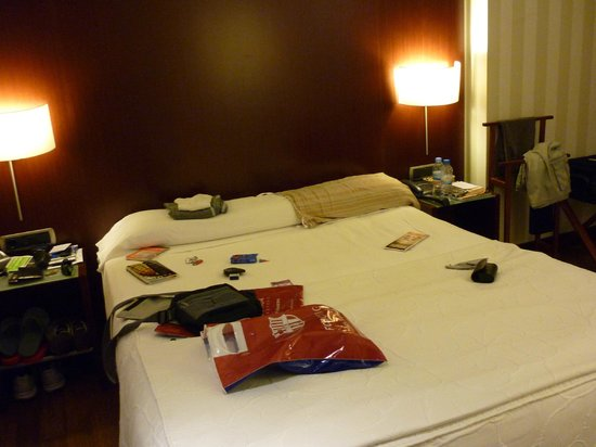 Hotel Zenit Borrell: room