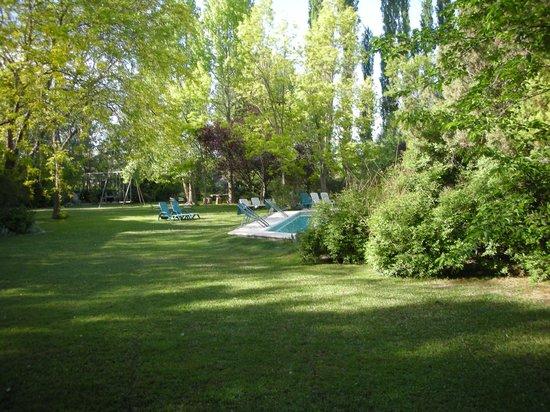 Casa Glebinias: View of Gardens and Pool