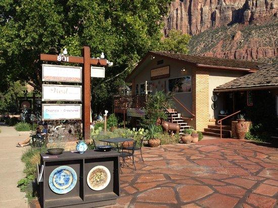 Quality Inn at Zion Park: le village de Springdale