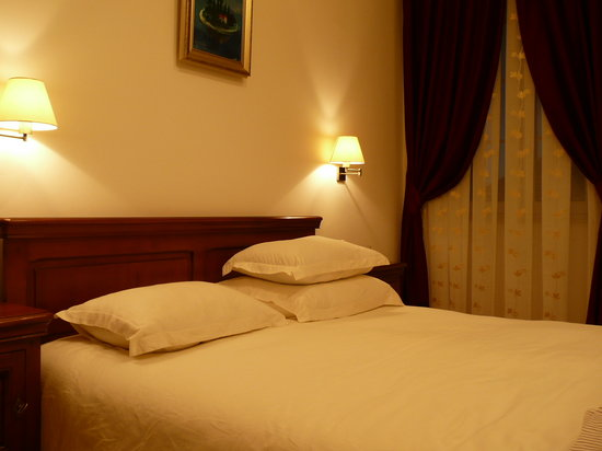 Hotel Tisno: Das Schlafzimmer im 'Tisno'