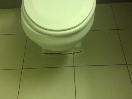 Silver Beach Hotel: Toilet leaking raw sewage