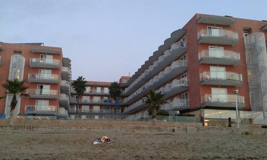 Hotel Augustus: sur la plage !
