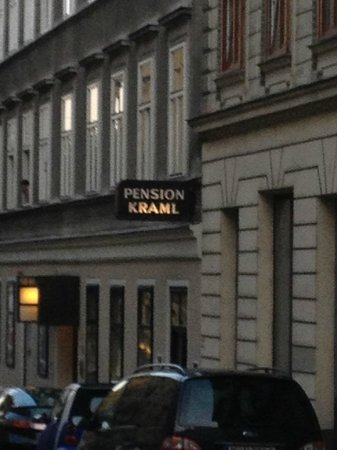 Pension Kraml: Front entrance