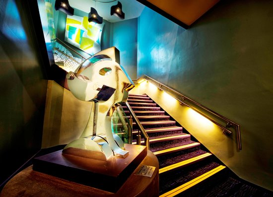 Brunton Theatre: The staircase up to Venue 1