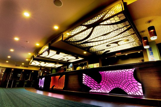 Brunton Theatre: Enjoy a drink at the bar before the show