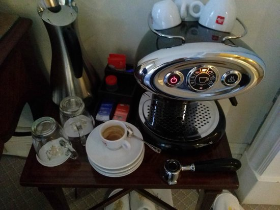 InterContinental Amstel Amsterdam: the in room coffee maschine