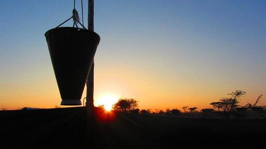 Pumzika Safari Camp: una ducha así no se olvida