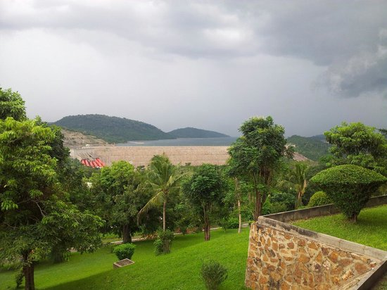 Volta Hotel Akosombo: View from my room