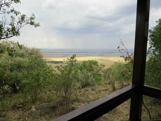 Mara West Camp: vue depuis le cottage