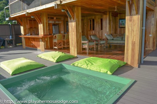Playa Hermosa Lodge: Jacuzzi