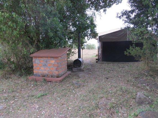 Mara West Camp: installation de chauffage de l'eau