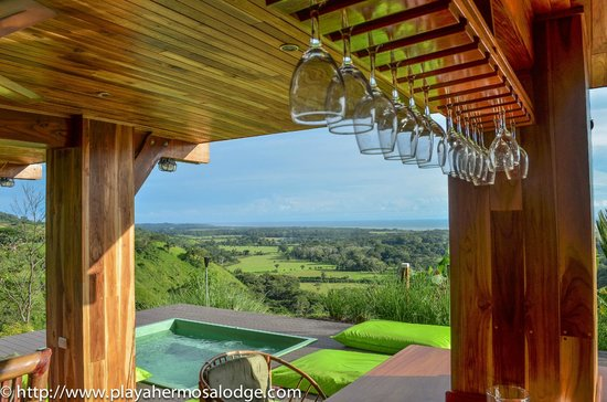Playa Hermosa Lodge: Bar and Jacuzzi