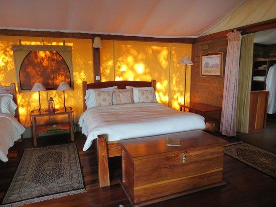 Mara West Camp: chambre du cottage numéro 4
