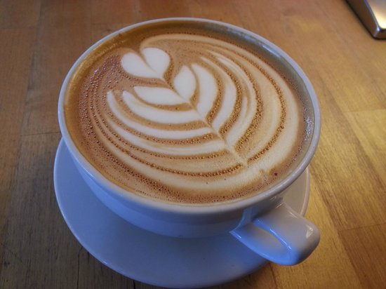 Waking Life: my yummy latte, made with love