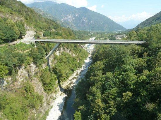 Vigezzina-Centovalli Railway : View along the route