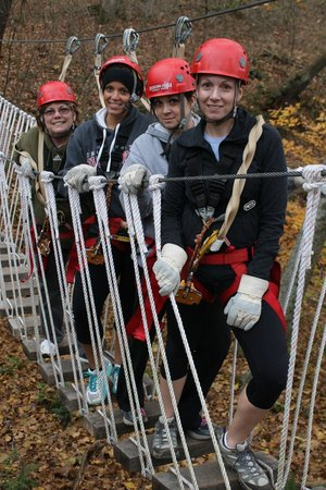 Hocking Hills Canopy Tours: Photo op