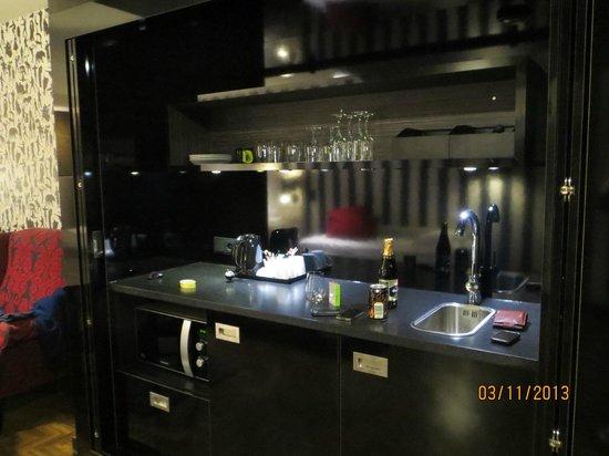 Scandic Paasi : Кухонный уголок в номере